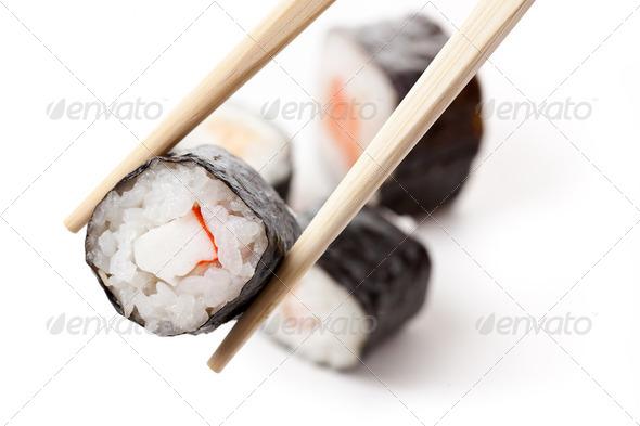 japanese sushi - Stock Photo - Images