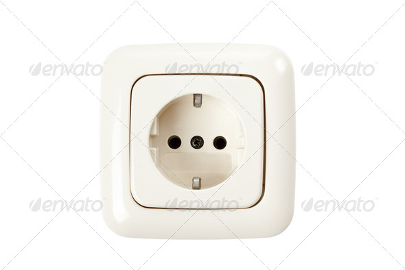 electric plug - Stock Photo - Images