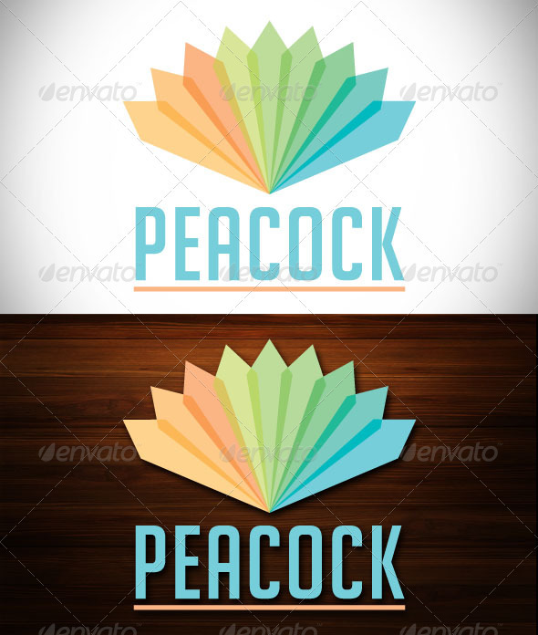 Peacock Logo - Objects Logo Templates