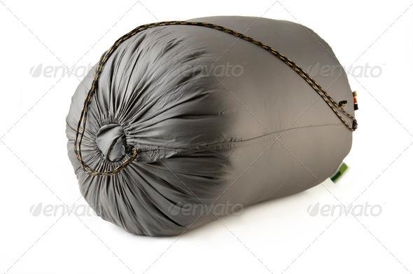 sleeping bag - Stock Photo - Images
