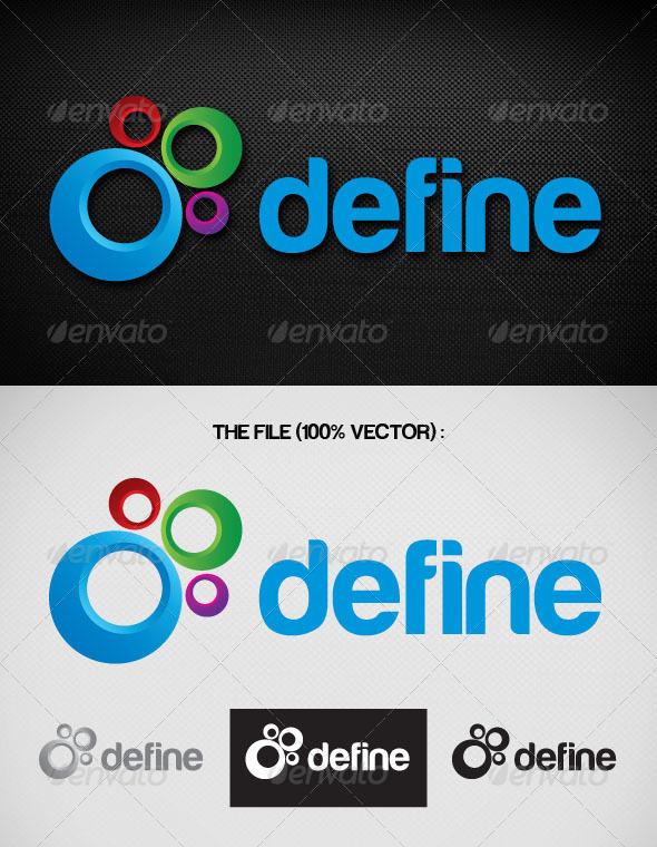 Define Logo - Objects Logo Templates