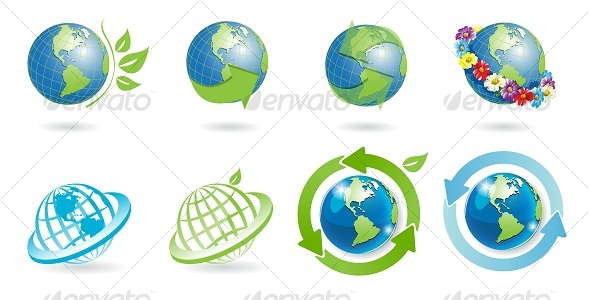 icons globe - Web Elements