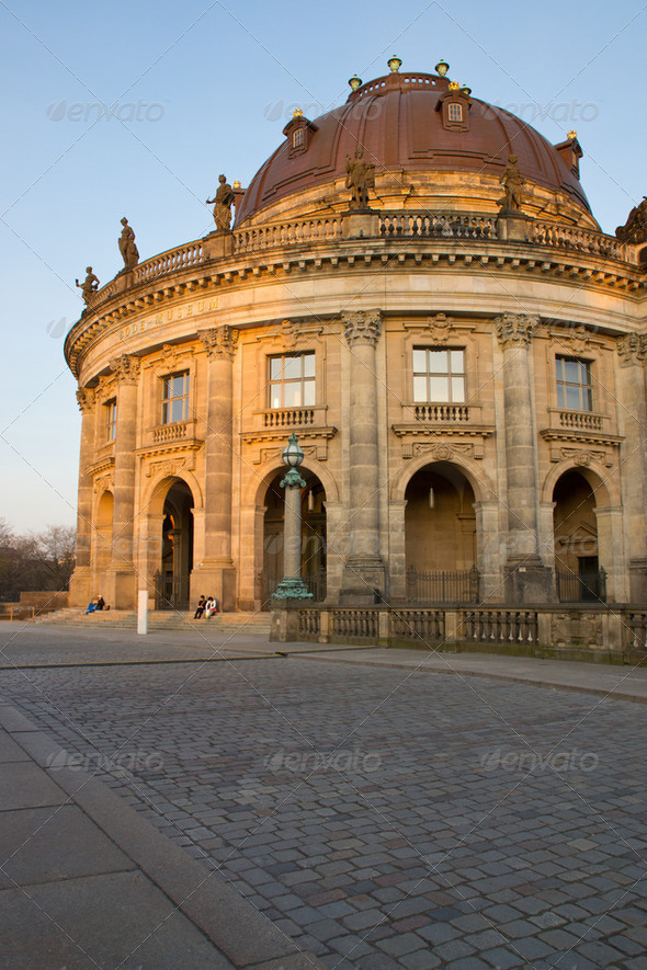 The Bodemuseum in Berlin - Stock Photo - Images