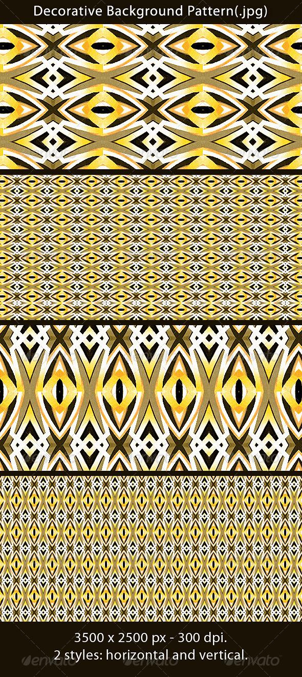 Decorative Background Pattern - Patterns Backgrounds