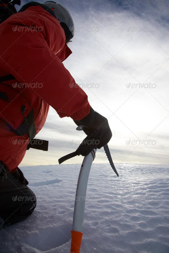 Mountain climber - Stock Photo - Images