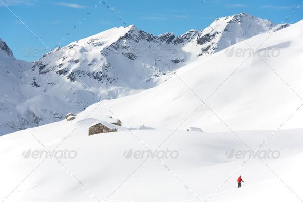 Snowboarding - Stock Photo - Images