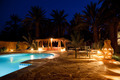 Arab hotel pool evening - PhotoDune Item for Sale