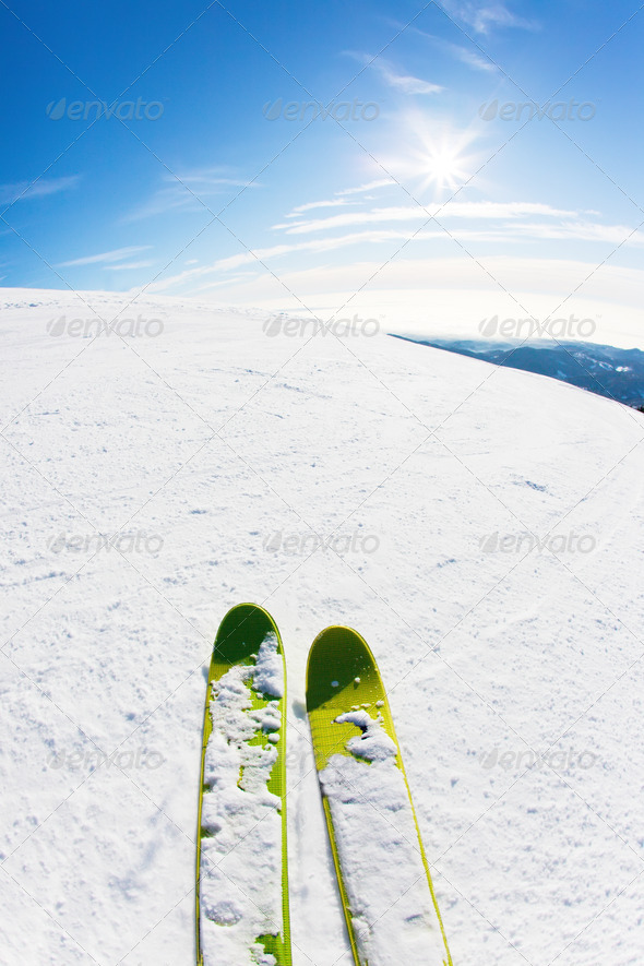 Ski - Stock Photo - Images