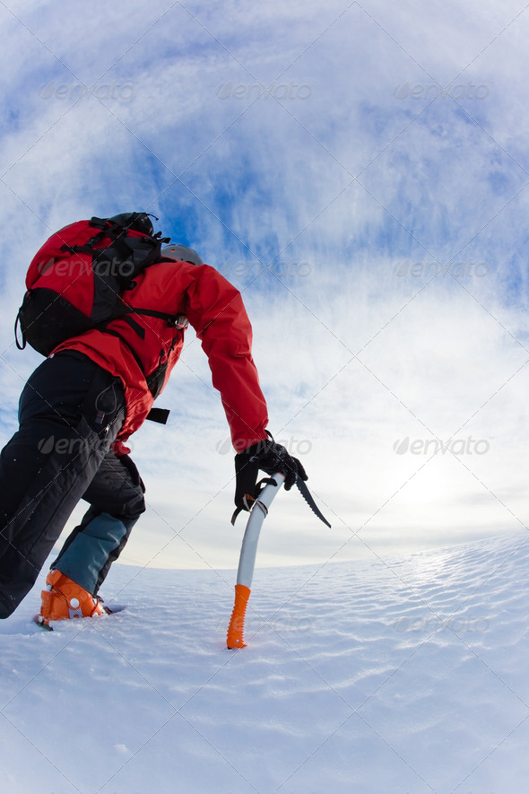 Mountaineer - Stock Photo - Images