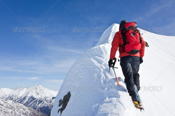 Alpinist - Stock Photo - Images