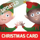 Christmas Elf Greeting Card - GraphicRiver Item for Sale