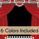 Theatre Poster Template - 6 Colors - GraphicRiver Item for Sale