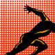 Marathon Runner Athlete Running Finish Line  - GraphicRiver Item for Sale