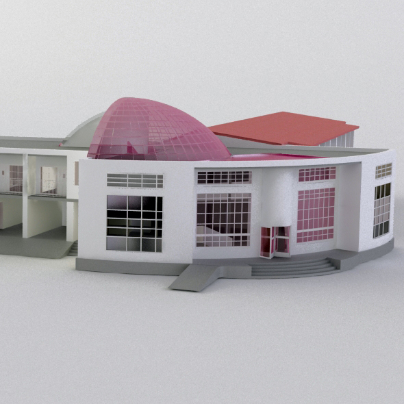 MOTEL - 3DOcean Item for Sale