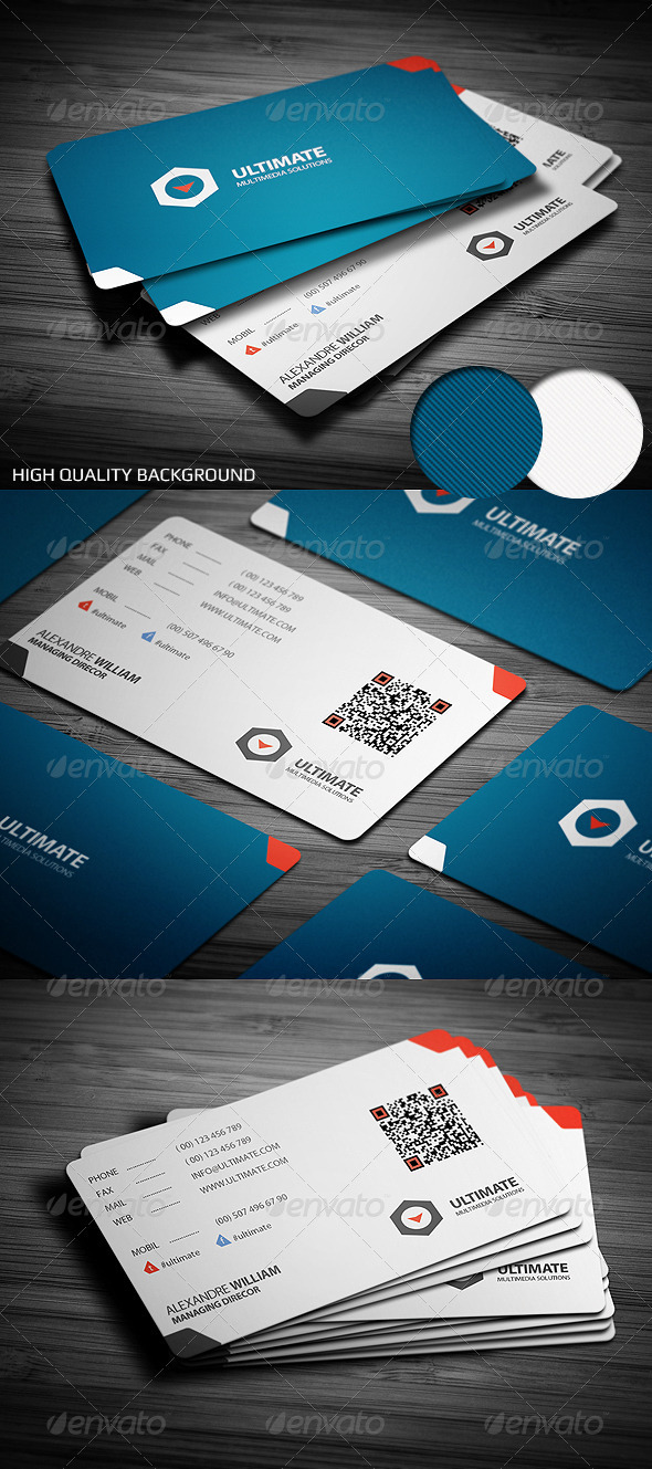 Class Corporate Business Card - Corporate Business Cards