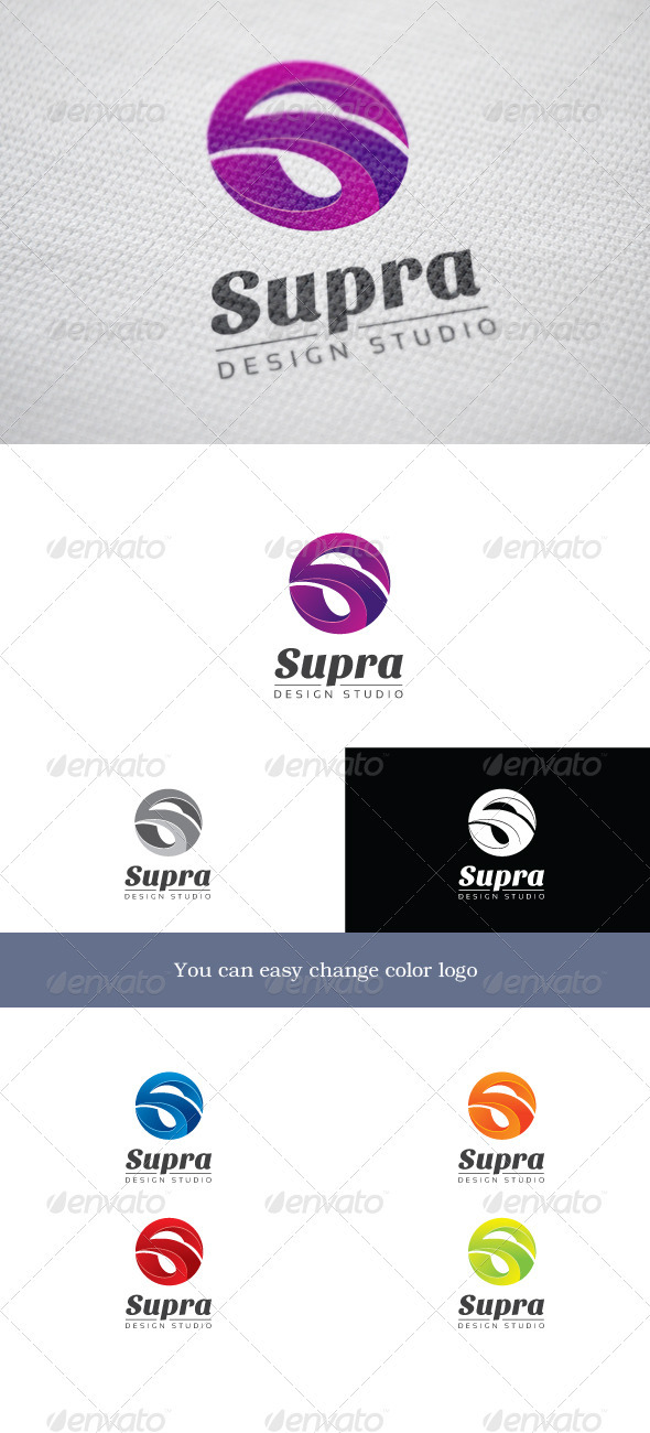 Supra - Letters Logo Templates