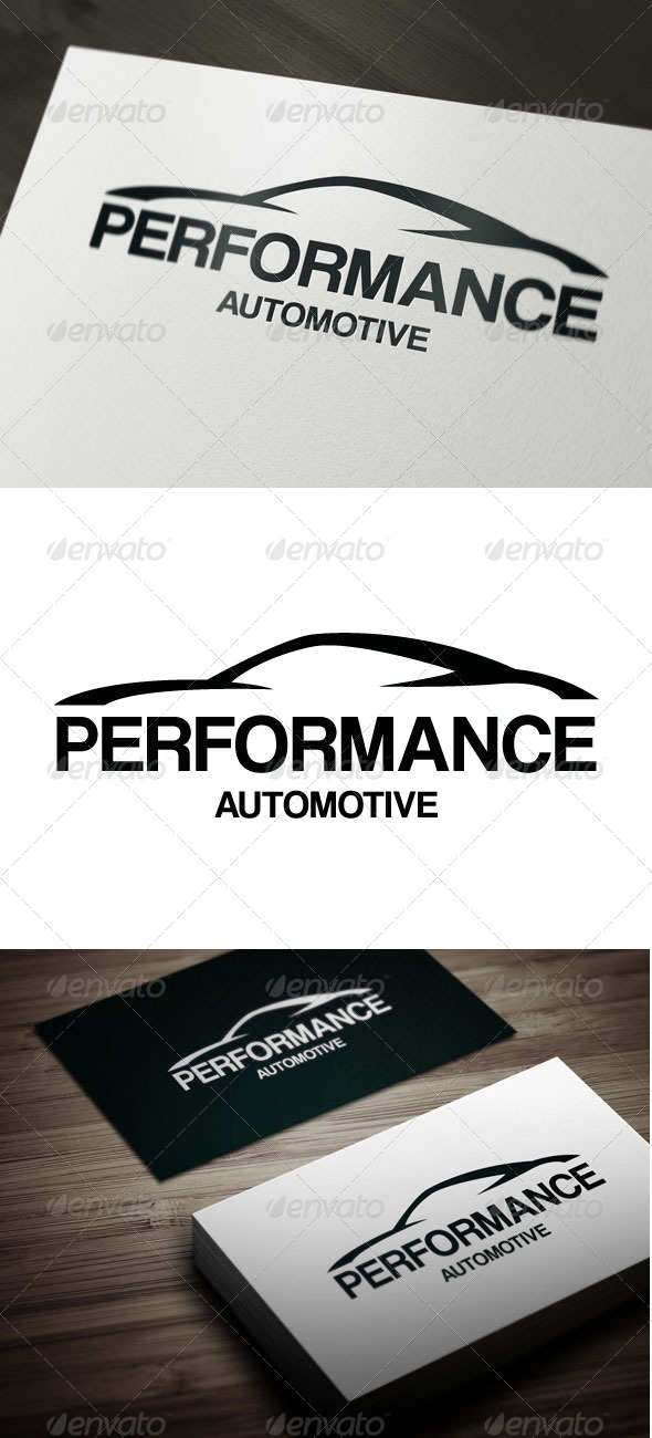 Performance - Objects Logo Templates