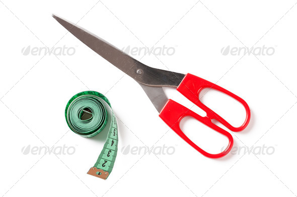 sewing tools - Stock Photo - Images