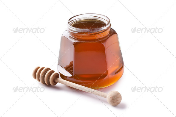 sweet honey - Stock Photo - Images