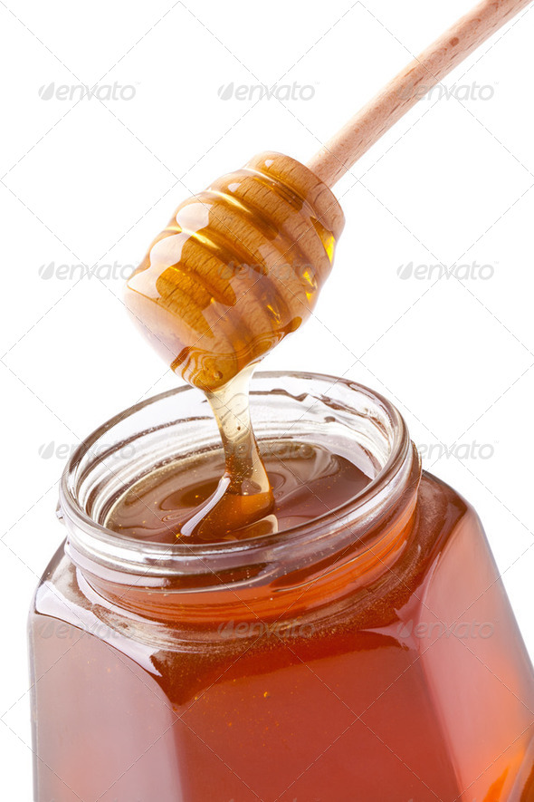 sweet honey - Stock Photo - Images