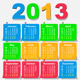 2013 Calendar Design - Week Starts with Monday - GraphicRiver Item for Sale
