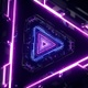 Neon Triangles Vj Loop - VideoHive Item for Sale