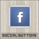 Simple Social Buttons - GraphicRiver Item for Sale
