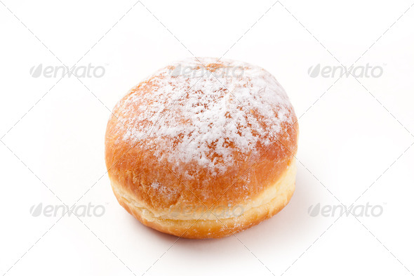 sweer donut with sugar - Stock Photo - Images