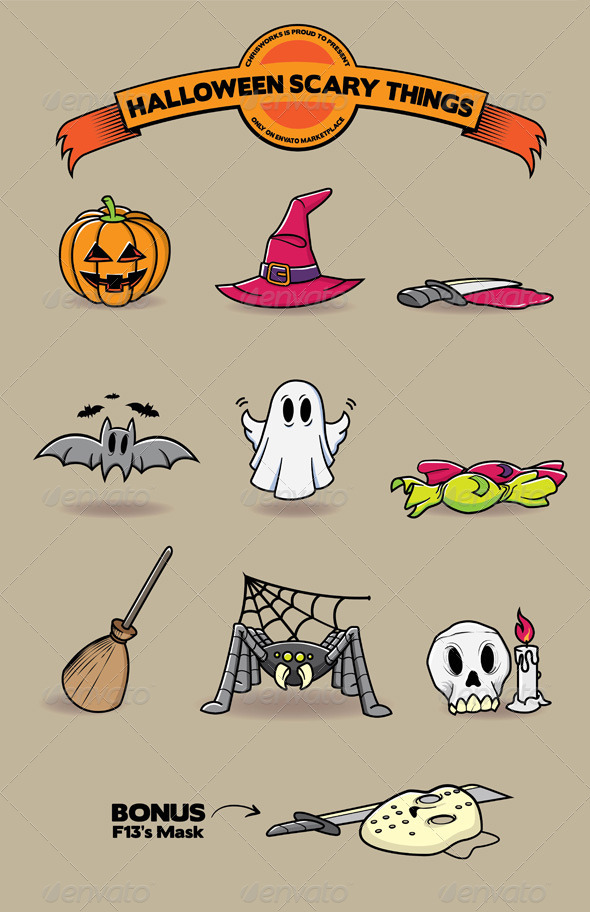 Halloween Scary Things - Halloween Seasons/Holidays
