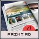 Travel Print Ad Flyer Template v1 - GraphicRiver Item for Sale