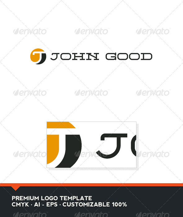 j logo templates from graphicriver