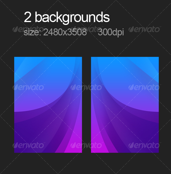 2 purple backgrounds - Abstract Backgrounds