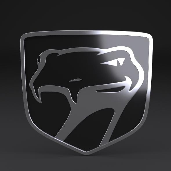 Dodge Viper Sneaky Pete Logo By Niosdark 3docean