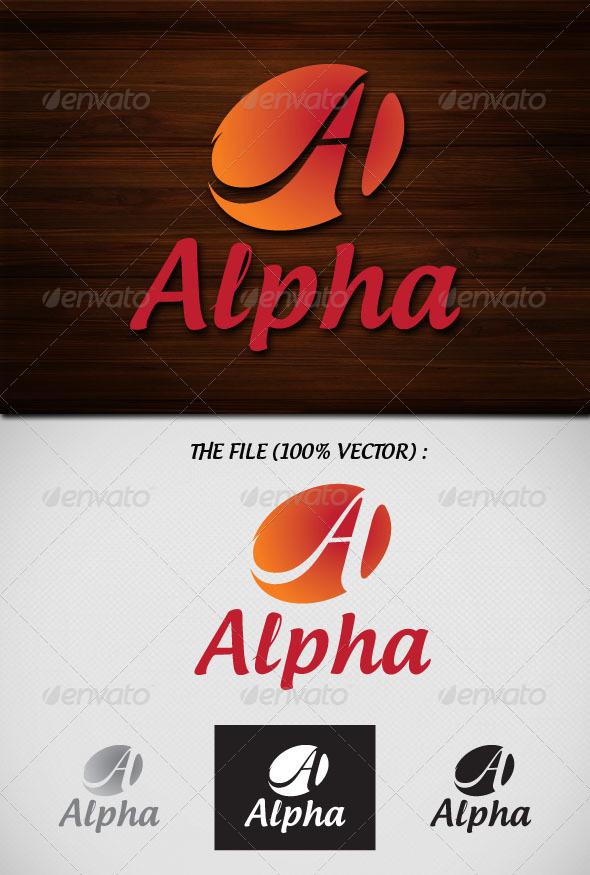 Alpha Logo - Letters Logo Templates