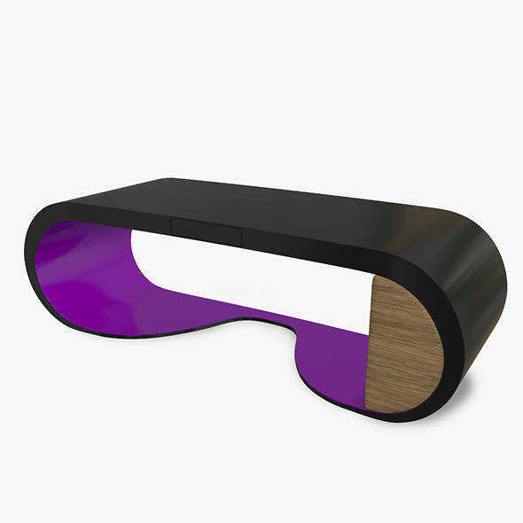 Goggle Desk - 3DOcean Item for Sale