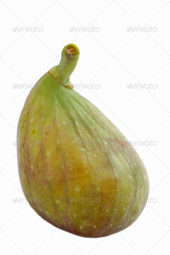 green fig - Stock Photo - Images
