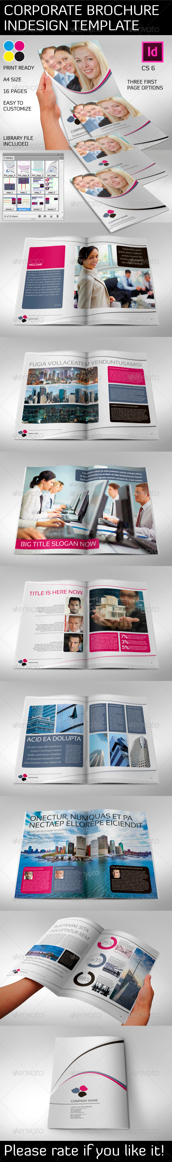 Corporate Brochure 16 Pages A4 - Corporate Brochures
