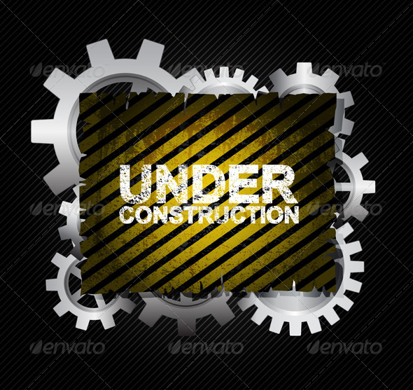 Under construction - Backgrounds Decorative