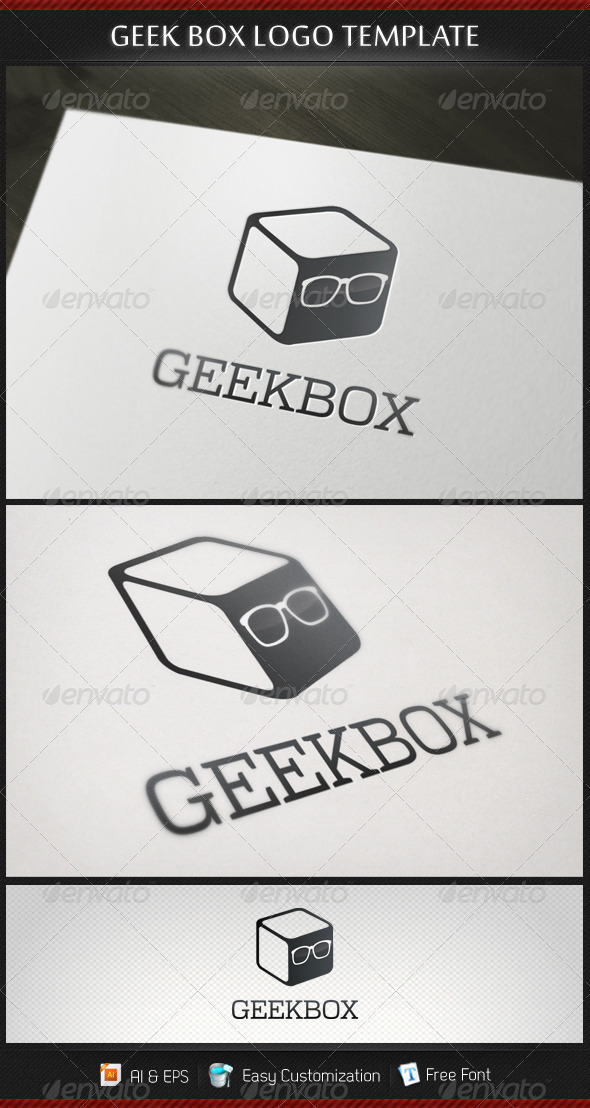 Geek Box Logo Template - Objects Logo Templates