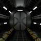 Spaceship Corridor 001 - VideoHive Item for Sale