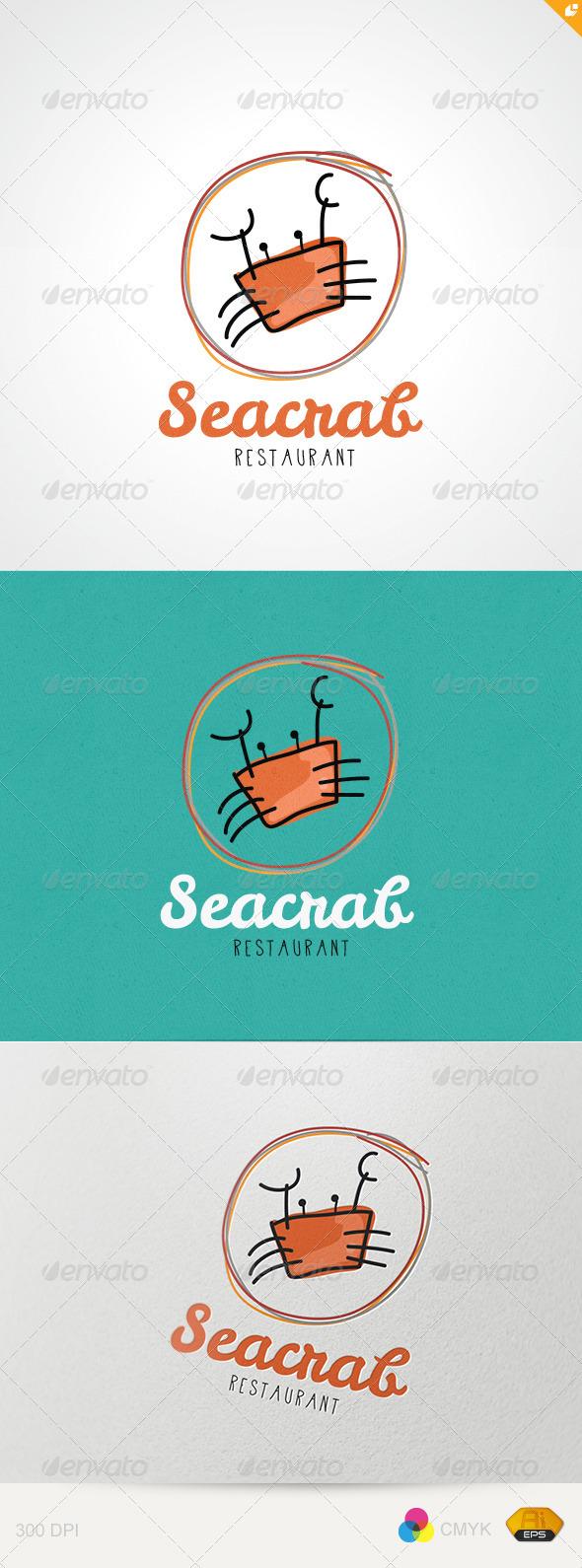 Sea Crab Restaurant - Restaurant Logo Templates