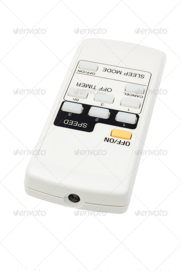 Electronic Remote Controller With Sleep and Timer Functions - Stock Photo - Images