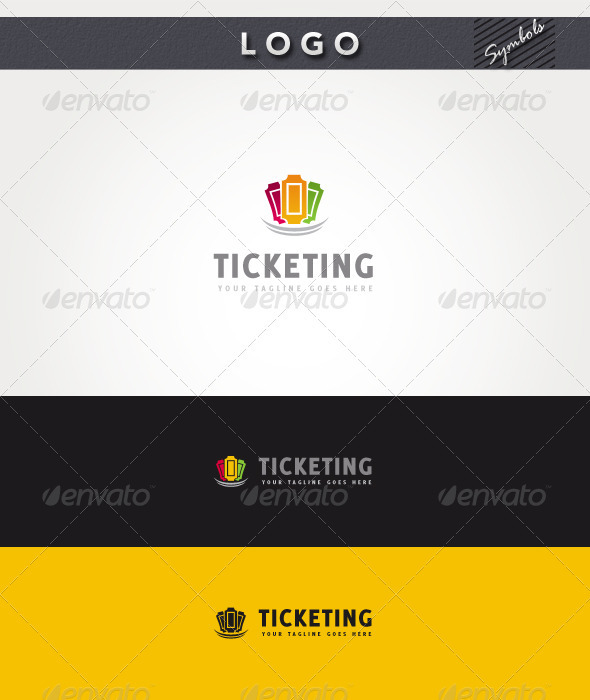 Ticketing II Logo - Symbols Logo Templates