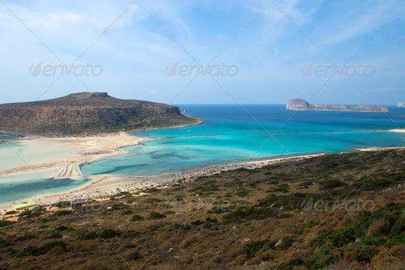 Balos Beach  - Stock Photo - Images