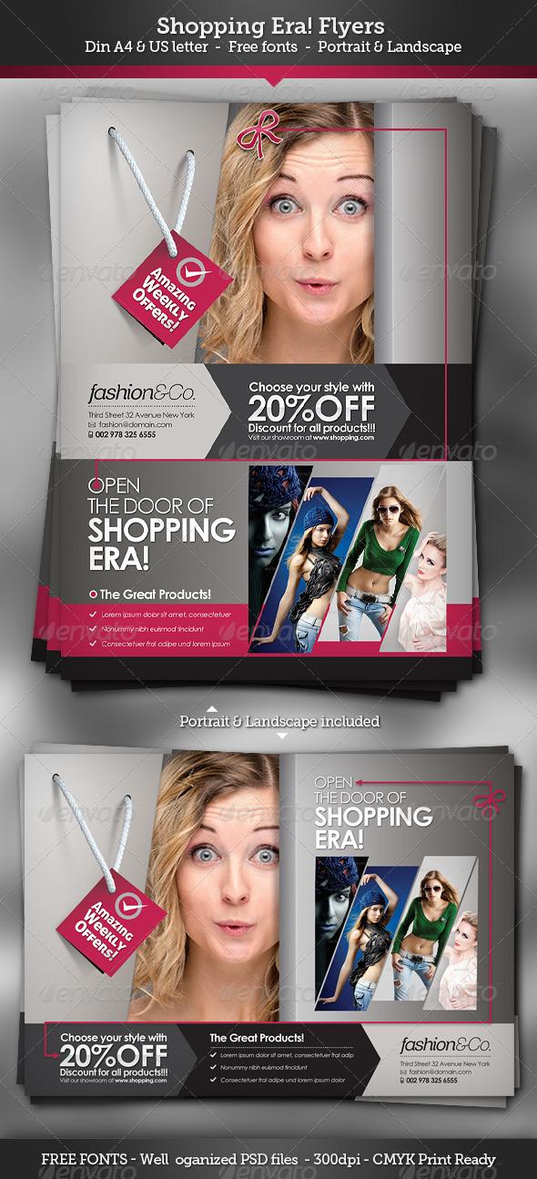 Shopping Era | Flyers - Commerce Flyers