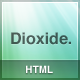 Dioxide HTML - ThemeForest Item for Sale
