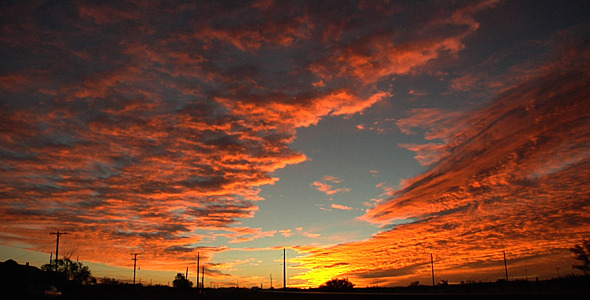 Sunrise Time Lapse In Marfa by bruceemail | VideoHive | title | sunrise time