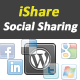 iShare jQuery Sharing Buttons for WordPress