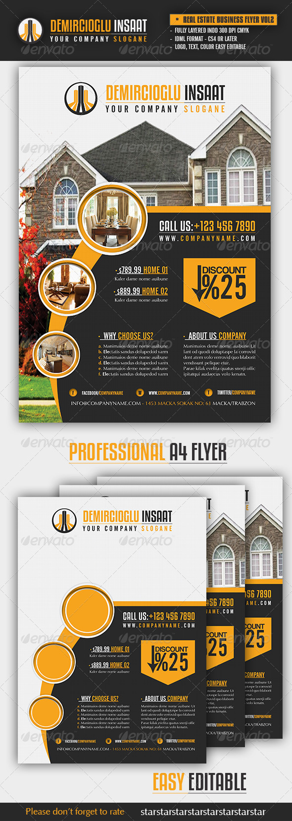 Real Estate Business Flyer Vol2 - Commerce Flyers