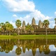 Angkor Wat Time Lapse with Lake Reflection in Siem Reap, Cambodia - VideoHive Item for Sale